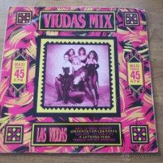 Discos de vinilo: VIUDAS MIX 1986 .MAXI 12. Lote 54155006