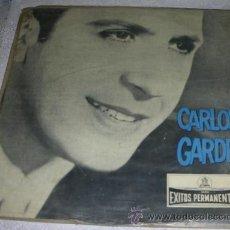 Discos de vinilo: CARLOS GARDEL - EXITOS PERMANENTES - LP DE EDICION DE URUGUAY. Lote 54156489