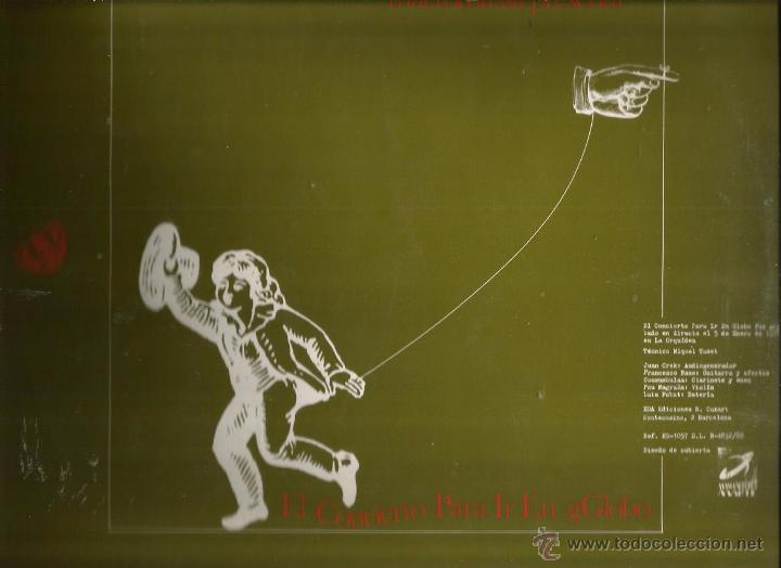 LP MACROMASSA : EL CONCIERTO PARA IR EN GLOBO (EXPERIMENTAL ELECTRONICA AVANTGARDE (Música - Discos - LP Vinilo - Electrónica, Avantgarde y Experimental)