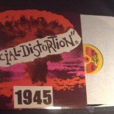 Discos de vinilo: DISCO VINILO LP SOCIAL DISTORTION 1945 PUNK ROCK. Lote 54158991