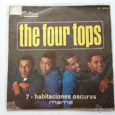 Discos de vinilo: THE FOUR TOPS - 7 ROOMS OF GLOOM / MAME (PROMO 1967). Lote 54159820