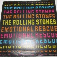 Discos de vinilo: THE ROLLING STONES - EMOTIONAL RESCUE - SN - EDICION INGLESA DEL AÑO 1980.. Lote 54159908
