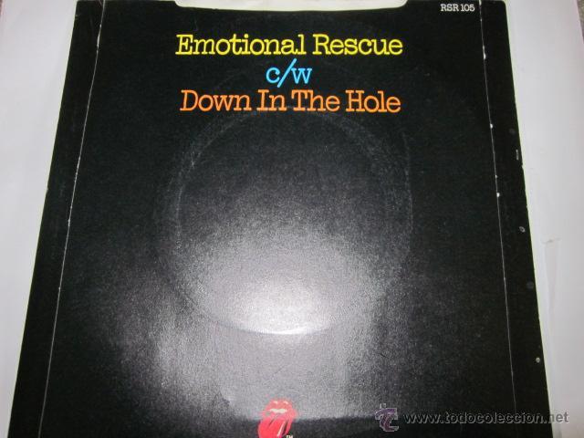 Discos de vinilo: THE ROLLING STONES - EMOTIONAL RESCUE - SN - EDICION INGLESA DEL AÑO 1980. - Foto 2 - 54159908