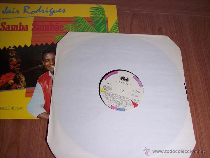 Discos de vinilo: MAXI SINGLE - JAIR RODRIGUES (SAMBA SAMBAO) SPAIN - ARIOLA - 1984 - Foto 2 - 54161198