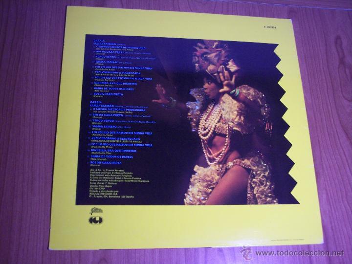 Discos de vinilo: MAXI SINGLE - JAIR RODRIGUES (SAMBA SAMBAO) SPAIN - ARIOLA - 1984 - Foto 5 - 54161198