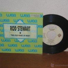 Discos de vinilo: ROD STEWART (THE FACES) 7´´ MEGA RARO VINTAGE ONLY PROMO ESPAÑA 1989. Lote 54165024