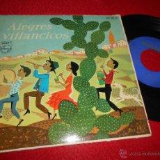 Discos de vinilo: COROS RONDALLA PARROQUIA SAN LORENZO CORDOBA LA MARIMORENA/NOCHE DIVINA +2 EP 1961 PHILIPS. Lote 54167109