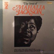 Discos de vinilo: MAHALIA JACKSON: THE BEST OF. Lote 54169971