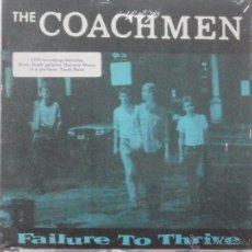 Discos de vinilo: THE COACHMEN-FAILURE TO THRIVE (EP. NEW ALLIANCE RECORDS. 1988) SONIC YOUTH. Lote 54170443