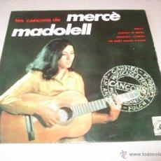 Discos de vinilo: MERCE MADOLELL EP 45 RPM POBRES DE MENA CONCENTRIC ESPAÑA 1967 + LETRAS. Lote 54176447