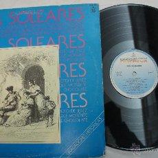 Discos de vinilo: POR SOLEARES - ANTONIO MAIRENA, CURRO DE UTRERA, ENRIQUE MORENTE...1982. Lote 54181465