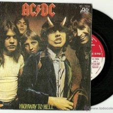 Discos de vinilo: AC/DC. HIGHWAY TO HELL (VINILO SINGLE 1980 ). Lote 113495438