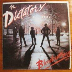 Disques de vinyle: THE DICTATORS-BLOODBROTHERS VINILO 220GR. Lote 54185794