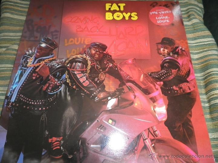 FAT BOYS - COMMIMNG BACK HARD AGAIN LP - ORIGINAL INGLES - TIN PAN APPLE / POLYDOR 1988 MUY NUEVO 5 (Música - Discos - LP Vinilo - Rap / Hip Hop)