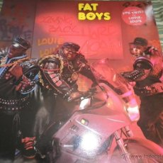 Discos de vinilo: FAT BOYS - COMMIMNG BACK HARD AGAIN LP - ORIGINAL INGLES - TIN PAN APPLE / POLYDOR 1988 MUY NUEVO 5. Lote 54194164