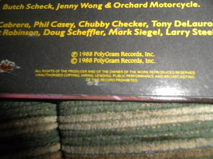 Discos de vinilo: FAT BOYS - COMMIMNG BACK HARD AGAIN LP - ORIGINAL INGLES - TIN PAN APPLE / POLYDOR 1988 MUY NUEVO 5 - Foto 4 - 54194164