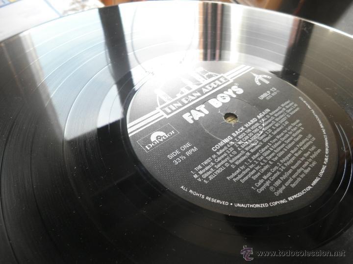 Discos de vinilo: FAT BOYS - COMMIMNG BACK HARD AGAIN LP - ORIGINAL INGLES - TIN PAN APPLE / POLYDOR 1988 MUY NUEVO 5 - Foto 16 - 54194164