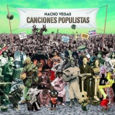 Discos de vinil: 10 PULGADAS NACHO VEGAS CANCIONES POPULISTAS VINILO + CD. Lote 189810593