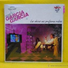 Discos de vinilo: JOSE RAMON GARCIA FLOREZ - LAS CHICAS NOS PREFIEREN RUBIOS - BSO - LP. Lote 54203570