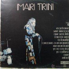 Discos de vinilo: *** MARI TRINI - ESCÚCHAME - LP 1973 - LEER DESCRIPCIÓN. Lote 54206137