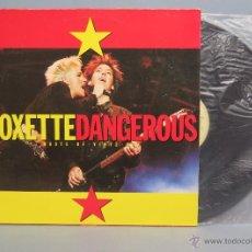 Discos de vinilo: MAXI SINGLE. ROXETTE. DANGEROUS. Lote 54206938