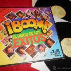 Discos de vinilo: BOOM DISCO DE LOS EXITOS 2LP 1985 DURAN+BATTIATO+MECANO+RAMONCIN+CHUNGUITOS+BOWIE+HOMBRES G+ALASKA. Lote 84475806