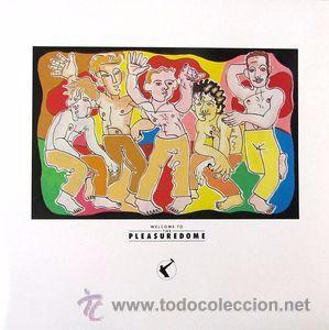 FRANKIE GOES TO HOLLYWOOD - WELCOME TO THE PLEASUREDOME (Música - Discos - LP Vinilo - Pop - Rock - New Wave Extranjero de los 80)