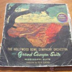 Discos de vinilo: GRAND CANYON SUITE-MISSISSIPI SUITE. LP DE 1960. Lote 54230163