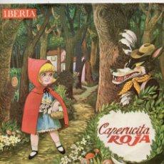 Discos de vinilo: CAPERUCITA ROJA - CUENTO INFANTIL, EP, CAPERUCITA ROJA + 1, AÑO 1964. Lote 54230710