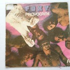 Dischi in vinile: FOXY - GET OFF (PROVOCAME) / YO MAKE ME HOT (SOLO CUBIERTA) (1978). Lote 54237616