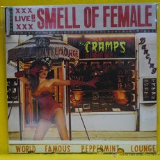 Discos de vinilo: CRAMPS - SMELL OF FEMALE - LP. Lote 54237661