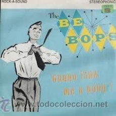Discos de vinilo: THE BE BOPS - GONNA FIND ME A BABY!. Lote 54238678