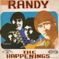 Discos de vinilo: HAPPENINGS, SG, RANDY + 1, AÑO 1968. Lote 54245971