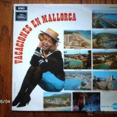Discos de vinilo: VACACIONES EN MALLORCA - LOS BELAK + LOS JAVALOYAS + LOS 5 DEL ESTE ----. Lote 54247171