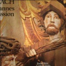 Discos de vinilo: CAJA BACH : JOAHNNES PASSION ( CHAMBER ORCHESTRA, BUDAPEST ). Lote 54247373