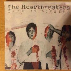 Discos de vinilo: THE HEARTBREAKERS: LIVE AT MOTHERS (10 PULGADAS). Lote 54252588
