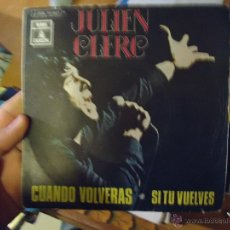 Discos de vinilo: PEQUEÑO DISCO SINGLE - JULIEN CLERC. Lote 207131400