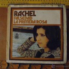 Discos de vinilo: PEQUEÑO DISCO SINGLE - RACHEL. Lote 54256136