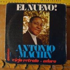 Discos de vinilo: PEQUEÑO DISCO SINGLE - ANTONIO MACHIN. Lote 54256200