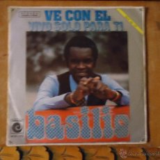Discos de vinilo: PEQUEÑO DISCO SINGLE - BASILIO. Lote 54256452