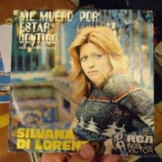Discos de vinilo: PEQUEÑO DISCO SINGLE - SILVANA DI LORENZO . Lote 54256651