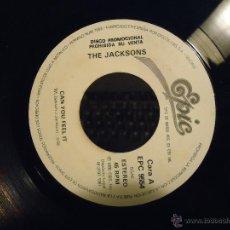 Discos de vinilo: PEQUEÑO DISCO SINGLE SIN CARATULA - DISCO PROMOCIONAL THE JACKSONS. Lote 54256736
