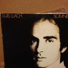 Discos de vinilo: DISCO VINILO LP LLUIS LLACH SOMNIEM. Lote 54257840