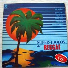 Discos de vinilo: MUSICA LP´S, LP DISCO VINILO SUPER IDOLOS DEL REGGAE. Lote 54259149
