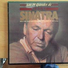 Discos de vinilo: FRANK SINATRA: LAS 14 GRANDES DE. Lote 54260326