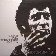 Discos de vinilo: VÍCTOR JARA - TE RECUERDO AMANDA. Lote 54262632