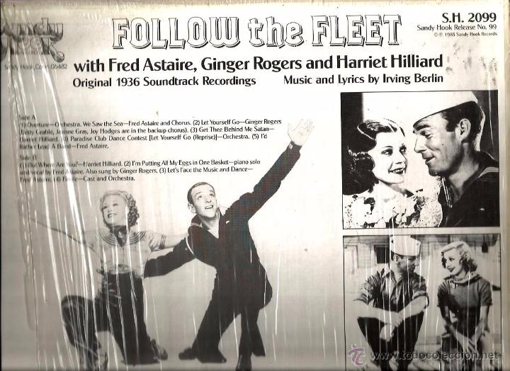 LP FOLLOW THE FLEET ( FRED ASTAIRE, GINGER ROGERS, IRVING BERLIN )