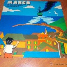 Discos de vinilo: MARCO .- DE LOS APENINOS A LOS ALPES.-LP-BACCAROLA .- 1977.. Lote 54266997