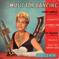 Discos de vinil: HARRY ARNOLD Y SU ORQUESTA - MUSIC FOR DANCING, EP, SERMONETTE + 3, AÑO 1959. Lote 54269600
