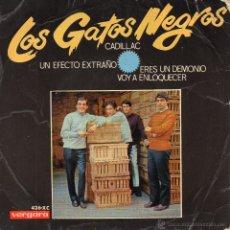 Discos de vinilo: GATOS NEGROS, EP, CADILLAC + 3, AÑO 1966. Lote 54270520